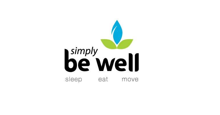 """Penyertaan Peraduan #32 untuk Logo Design for Corporate Wellness Business called """"Simply Be Well"""""""