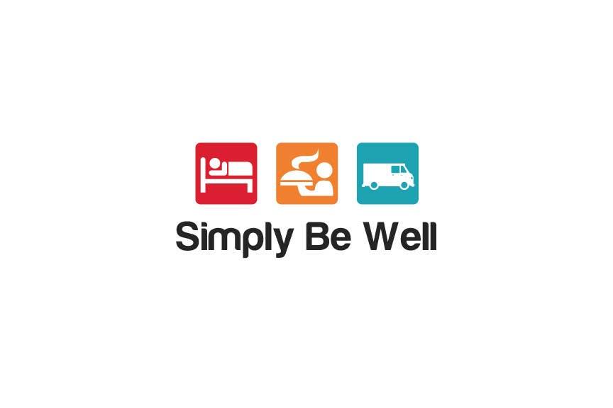"""Penyertaan Peraduan #16 untuk Logo Design for Corporate Wellness Business called """"Simply Be Well"""""""