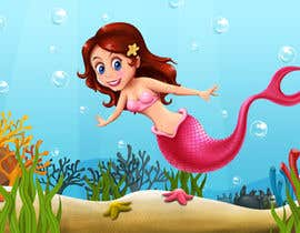 #13 para Mermaid for children's party theme, commercial use de lookandfeel2016