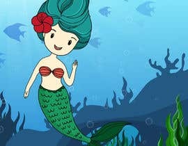 #14 para Mermaid for children's party theme, commercial use de alyanacea