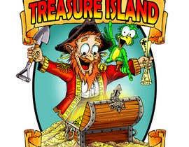 Nro 46 kilpailuun Create a Mascot and logo for indoor flea market Treasure island Flea Market käyttäjältä ecomoglio