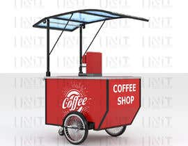 #25 for Hot beverage / food cart professional design by unitdesignstudio