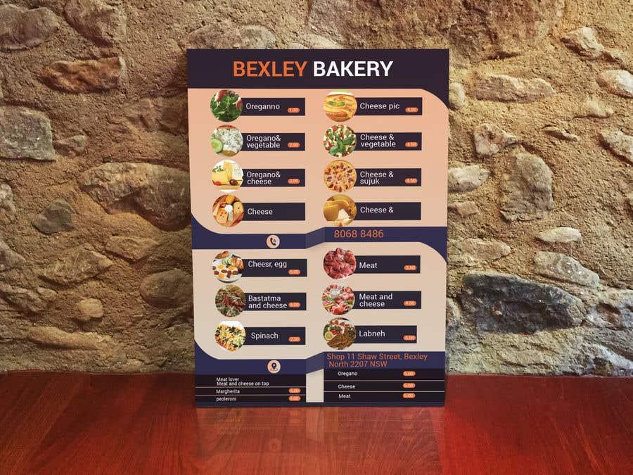 Bài tham dự cuộc thi #25 cho Food Menu Flyer & Business Card