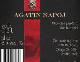#38 pёr Design a label for Blackberry wine nga danielegennaro