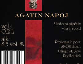 #39 pёr Design a label for Blackberry wine nga danielegennaro