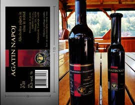 #49 para Design a label for Blackberry wine por ntmai
