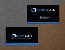 nº 110 pour Make business cards for an ecommerce and marketing company par amirhossain472