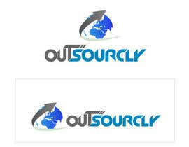 KreativeAgency tarafından Logo Design for Outsourcly için no 410