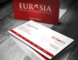 nº 45 pour Business Card Design for www.eurosia.eu par creationz2011