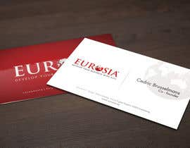 nº 67 pour Business Card Design for www.eurosia.eu par sarah07