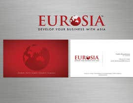 #89 para Business Card Design for www.eurosia.eu por sarah07
