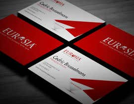 #34 para Business Card Design for www.eurosia.eu por milanche037