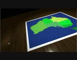 #6 for Make a 3d animated map in After effects. by kokabyna
