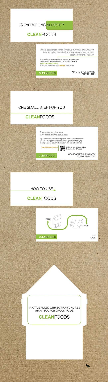 Participación en el concurso Nro.23 para 3x INSERT CARDS + ENVELOPE DESIGN needed for e-commerce packaging