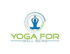 nº 42 pour Yoga for well being Logo Design par taskienmizi