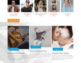 Nro 48 kilpailuun Music School Branding and website käyttäjältä saidesigner87