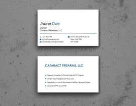 #1 for Business Cards for Firearms Business by s1pkmondal143