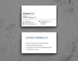 Nro 1 kilpailuun Business Cards for Firearms Business käyttäjältä s1pkmondal143