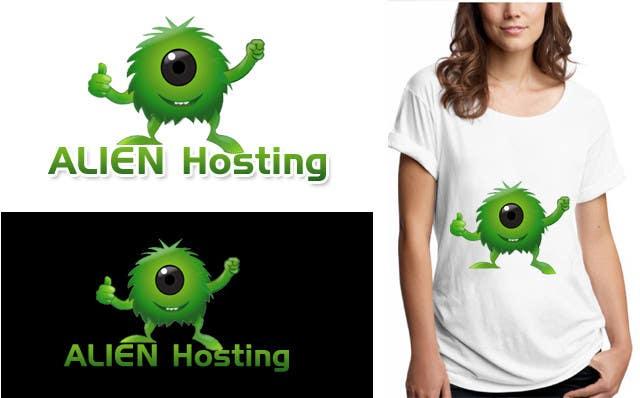 Bài tham dự cuộc thi #                                        123                                      cho                                         Logo Design for Alien Hosting