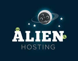#176 para Logo Design for Alien Hosting por JoGraphicDesign