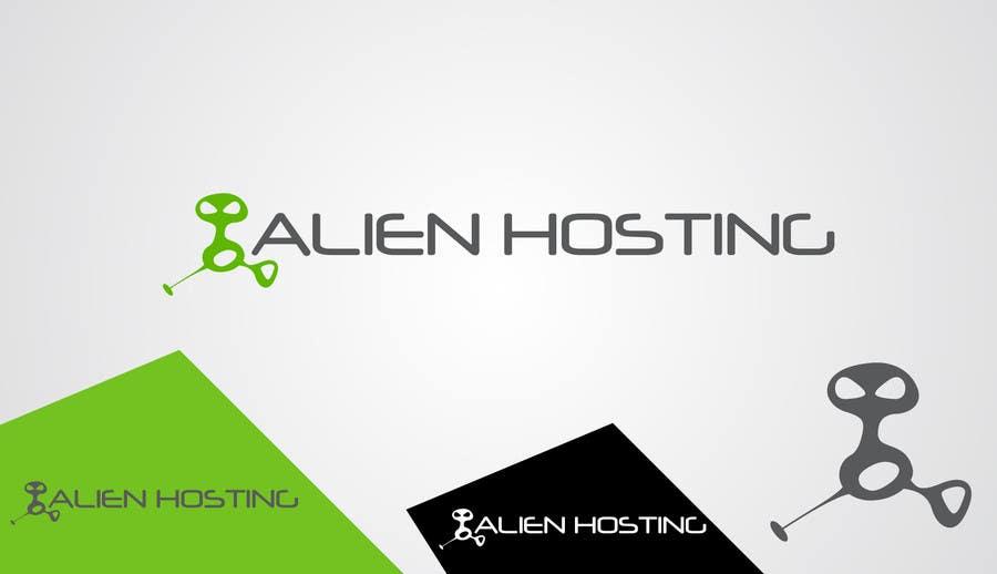 Bài tham dự cuộc thi #                                        119                                      cho                                         Logo Design for Alien Hosting