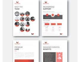 #31 untuk Redesign existing company profile, brochure, and design 5 individual product sheets. oleh claudiuddu