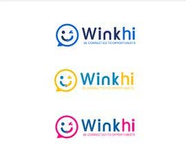 #70 untuk The name of the App is WinkHi. its a Social App where you can connect, meet new people, chat and find jobs. Looking for something fun, edgy. I have not decided on colors or fonts. Looking for creativity. Check the attachments oleh nexLevelStudio