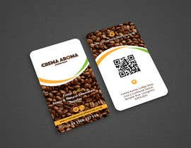 #136 for Business Card for Crema Aroma Coffee Shop by Shariquenaz