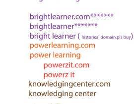 #356 pentru Find a Name for an Educational Institute de către sharif106