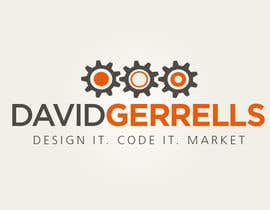 nº 44 pour Logo Design for David Gerrells Web par JoGraphicDesign