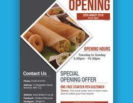Mukul703 tarafından Design a Flyer for a Indian Street Cafe için no 15