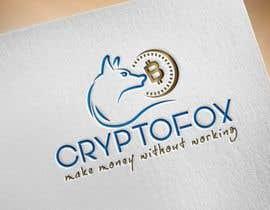 #48 for Bitte entwerfen sie ein modernes, ansprechendes Logo. Bitte orientieren Sie sich an den verschiedenen Entwürfen in der Anlage. Das Wort (CRYPTOFOX) und der Slogen (make money without working) sollten Bestandteil des Logos sein. by gulenigar