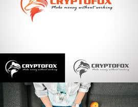 #39 para Bitte entwerfen sie ein modernes, ansprechendes Logo. Bitte orientieren Sie sich an den verschiedenen Entwürfen in der Anlage. Das Wort (CRYPTOFOX) und der Slogen (make money without working) sollten Bestandteil des Logos sein. por Zerooadv