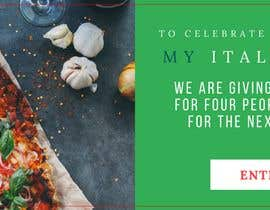 #28 for Design Italian Restaurant Digital Top banner Ad by ujoshi333