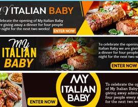 #22 for Design Italian Restaurant Digital Top banner Ad by DesinerBD