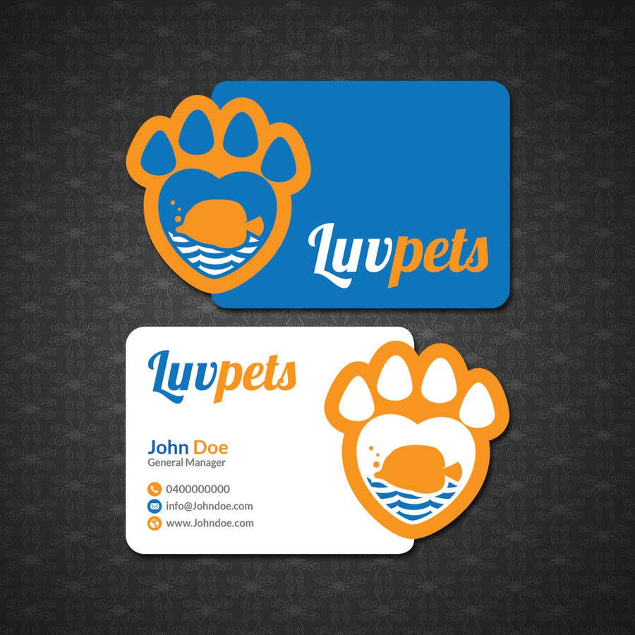 Konkurrenceindlæg #59 for Create Business cards for Pet business