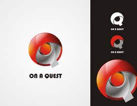 #90 untuk Logo Design for On a Quest oleh pointspinkin
