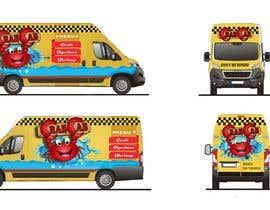 Nro 46 kilpailuun food truck sticker and logo design käyttäjältä amberjoey111