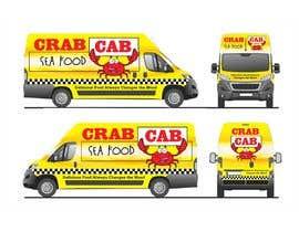 Nro 43 kilpailuun food truck sticker and logo design käyttäjältä qamarkaami