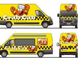 Nro 35 kilpailuun food truck sticker and logo design käyttäjältä mmujica