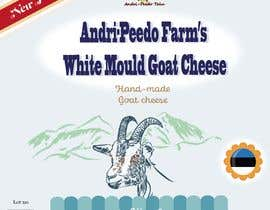 #34 for Box for white goat cheese by kasiaroth