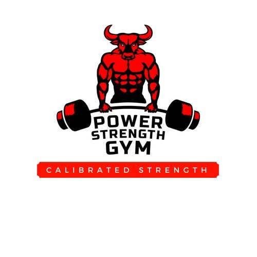 Entry 80 By Ujoshi333 For Make A Powerlifting Gym Logo