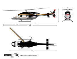#109 for Design a helicopter paint design by Ambition454