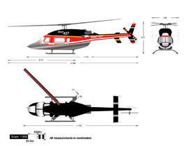 #110 for Design a helicopter paint design by Ambition454