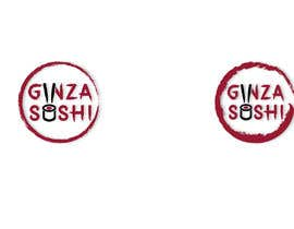 #70 for Logo design for new restaurant. The name is Ginza Sushi.   We are looking for classy logo with maroon, Black and touches of silver (silver bc of the meaning). Would also like a brushstroke look but a highly visible name. by ashim007