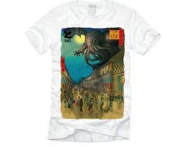 #12 для Monster attack on city T shirt design от DjIloveDESIGN