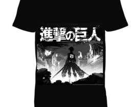 #1 для Monster attack on city T shirt design от Muzahidul34