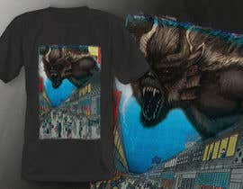 #5 для Monster attack on city T shirt design от robiulhossi