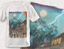 #11 для Monster attack on city T shirt design от robiulhossi
