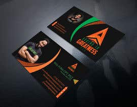 #148 for Design Personal Trainer Business Cards by Nazmul106